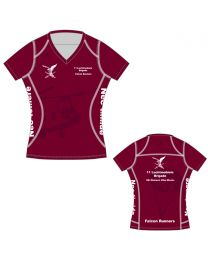 Falcon Runners CS APEX Shirt korte Mouw Dames