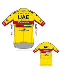 UAE Emirates 2020 Yellow Tech Shirt
